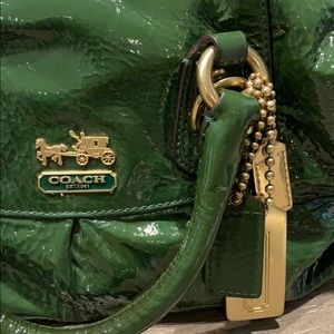 Coach Bags - Coach Small Sabrina, Green Patent. Style #12957